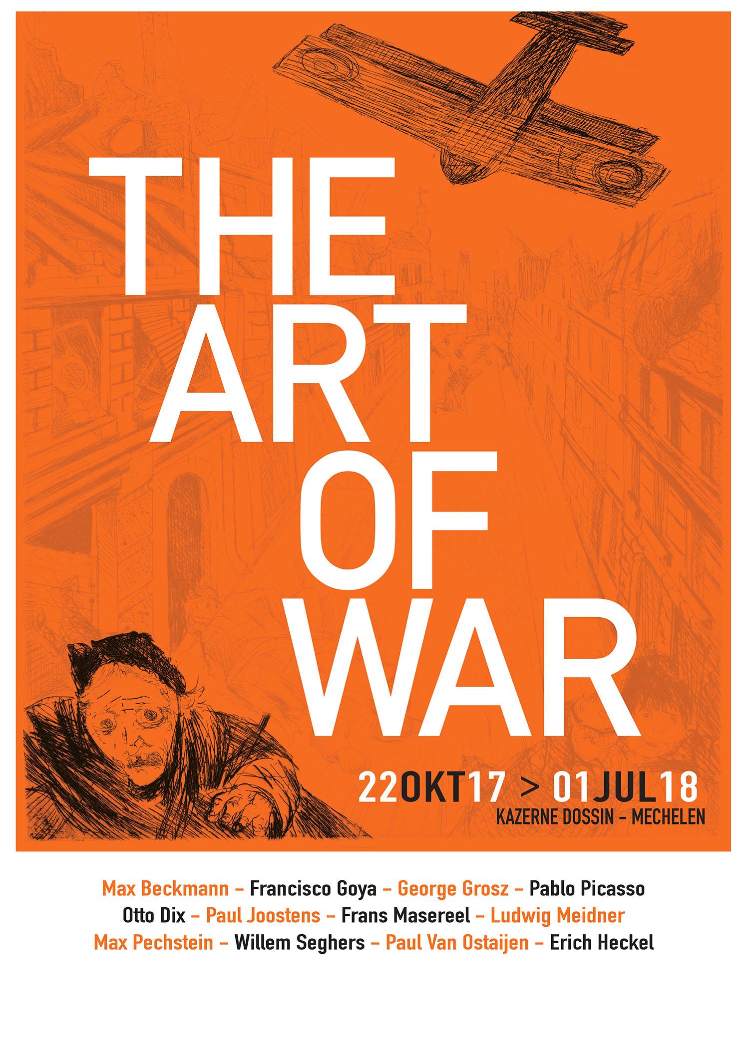 Beeld: Der Krieg, Otto Dix - Ontwerp: Anderzijds