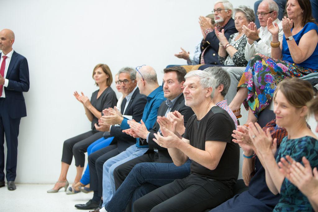 Opening tentoonstelling Holocaust & Strips (c) Guy Kleinblatt