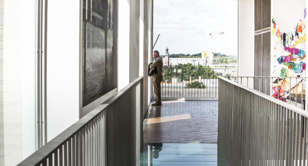 panoramazaal Kazerne Dossin (c) Guy Kleinblatt