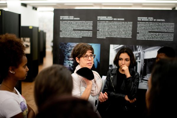Klasbezoek Mensenrechten in Klare taal, (c) Katrijn Van Giel